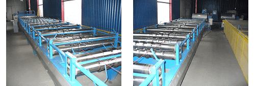 Фото станки для изготовления металлочерепицы «ЮГ-Профиль»