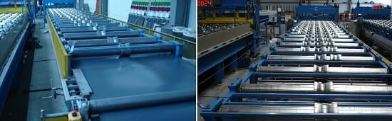 Фото станки для изготовления металлочерепицы от Вин-Скиф